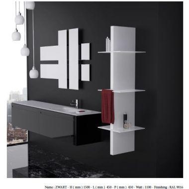 salle de bain - meubles miroir -sèche serviettes