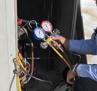 Contrôle manomètre-entretien à pompe à chaleur aérothermique et géothermique