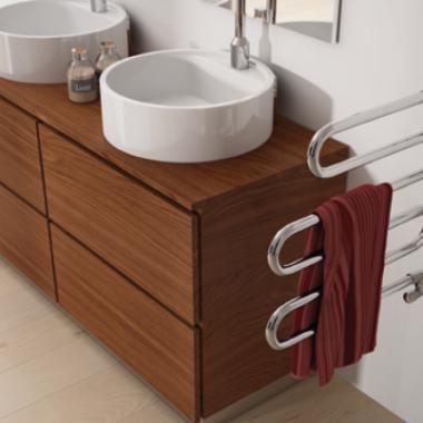 Sèche serviette - double vasques Salle De Bain