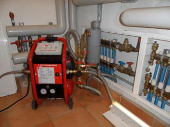 Nettoyage circuit de chauffage ou plancher chauffant - Désembouage