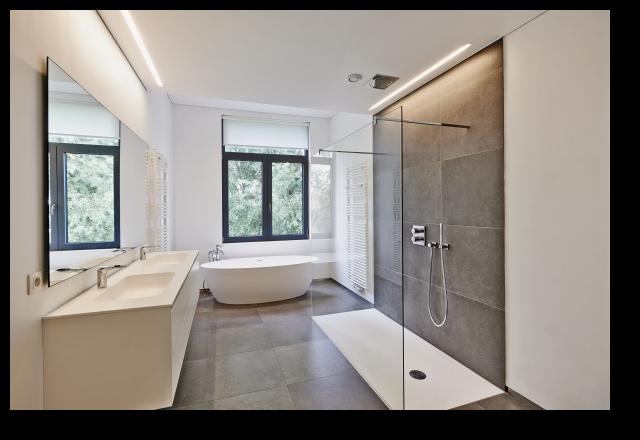 exemple aménagement salle de bain – douche à l\'italienne ...